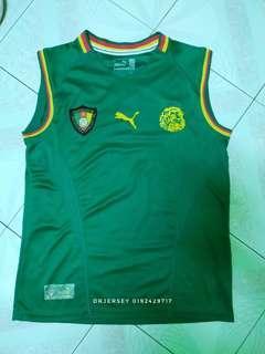 Cameroon sleeveless jersey 2001