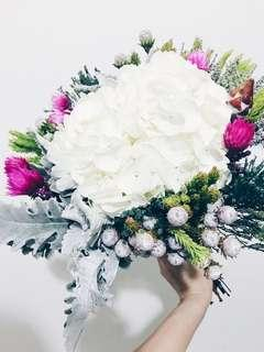 Designer coastal bliss bridal bouquet WD