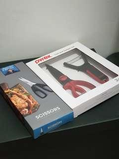 BN Jamie Oliver Scissors + Pyrex Scissors Set
