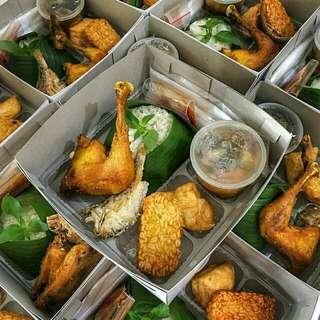 Nasi kotak nasi box katering prasmanan catering