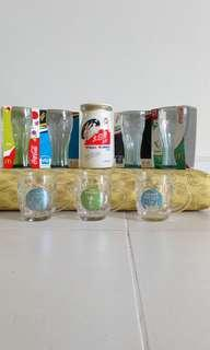 Water Glasses and a Jar