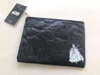 日本迪士尼星球大戰黑武士Disney Star Wars darthvader小物袋聖誕禮物男神交換