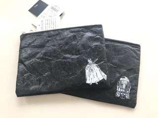 日本迪士尼星球大戰黑武士Disney Star Wars darthvader r2d2 pouch Xmas gift聖誕禮物男神