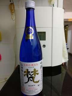 梵 born 吟撰 特別純米酒 限定品