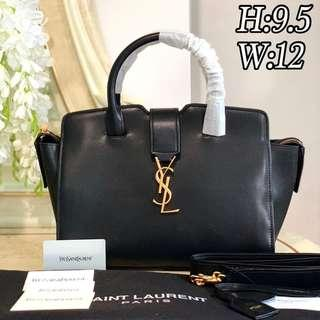 Ysl Downtown Cabas Black Bag