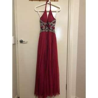 Terrani Dress Gown Pink