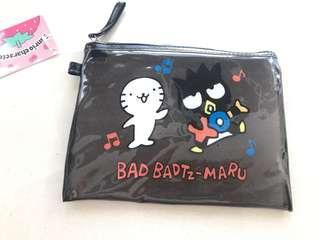 日本sanrio XO小物袋 化妝袋japan Christmas gift pouch 聖誕交換禮物