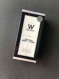 NEW - Wink White Whitening Body Lotion Thailand