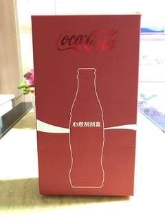 Coca-Cola可口可樂美好寓意生日分享玻璃樽刮刮禮盒裝200ml