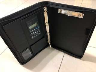 🚚  Portable A4 Zipper Ring Binder, A4 Organizer, A4 Certificate Holders, A4 Document Bag/A4 Zipper Portfolio-with Handle and Ring Binder/Artificial Leather zipper Bag with Handle and Ring Binder/A4 Portfolio, A4 Resume Organiser, Sales Bag