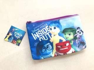 日本迪士尼反轉腦朋友Disney japan inside out 筆袋化妝袋Xmas guft聖誕交換禮物