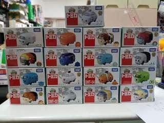 聖誕清倉蝕放價 Tomy Takara Tomica 合金車仔 Tsum Tsum 任選3款 不可揀同款 三盒共$100