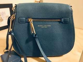 Authentic Designer Marc Jacobs Recruit Nomad Saddle Bag