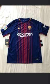 Brand new Authentic Barcelona Jersey (M)