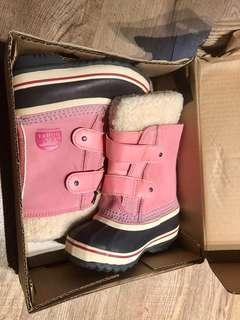 Sorrel Boots Size 9 Toddler
