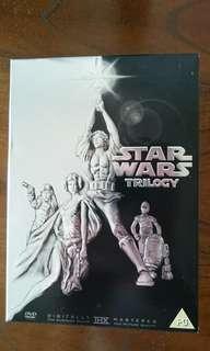 Star Wars Trilogy DVD boxset