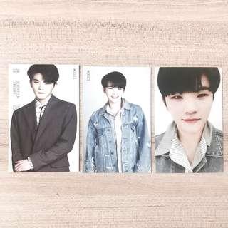 [wts] seventeen woozi ideal cut trading photocard set
