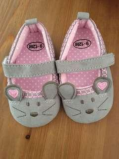 Baby Grey Mouse Shoes