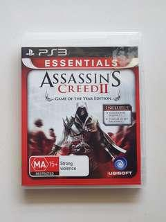 Ps3 Assassin's Creed II Game
