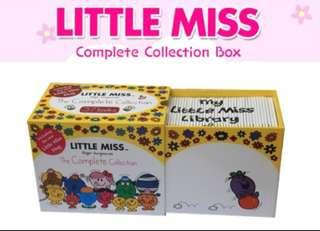 🚚 Authentic Little Miss Complete Collection Box + Mr Men Complete Collection Box