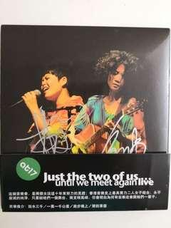 at17 林二汶 盧凱彤 Just the two of us... Live cd