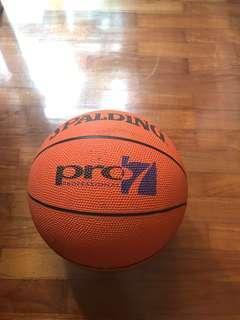 Spalding professional Basketball ball football