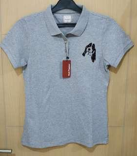 Kaos Polo Cewek Hush Puppies Original Navajo Grey Size L