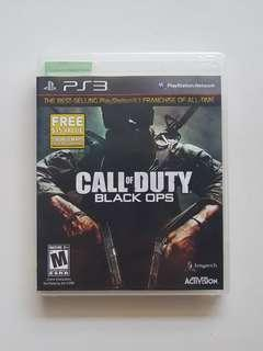 Ps3 Call of Duty Black Ops Game