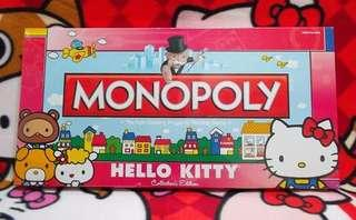 Hello Kitty 美版 大富翁 Monopoly