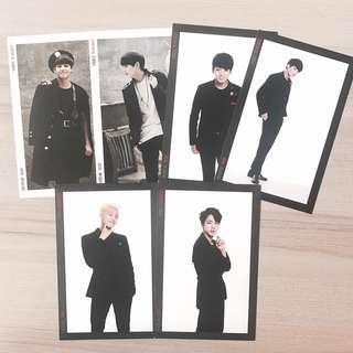 [wts] bts the red bullet trb photosets / postcards