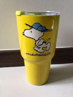 Snoopy metal flask