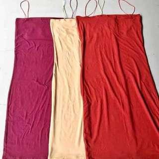 Mustard String bodycon dress