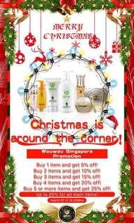 🚚 WOWO XMAS PROMO DISCOUNT!! 10-22dec only