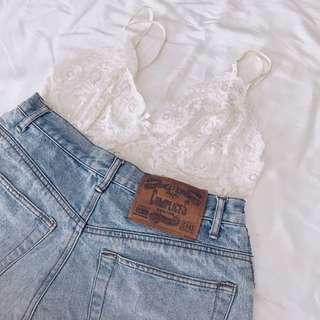 Vintage Complices High Waisted Shorts