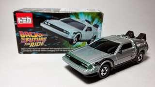 🚀 [全新直角未開] TAKARA TOMY Tomica Car 大板環球影城 回到未來 Back to the future