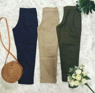Korean Trousers (Army Green)