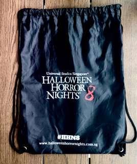 USS Halloween Horror Nights drawstring bag
