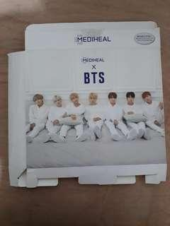 BTS x Mediheal Special Care Set Outbox