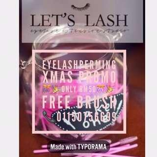 Eyelashes Perming