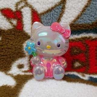()已壞) Hello Kitty 幻彩膠公仔