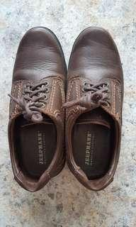 🚚 Brown Leather Shoes
