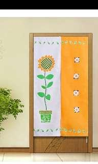 In Stock BN Door Curtain, Japanese Partition FengShui