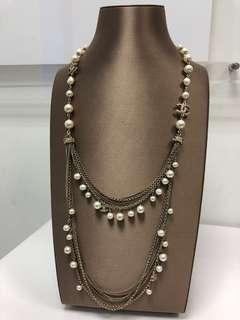Chanel long necklace