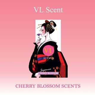 CHERRY BLOSSOM - VL Scent Air Freshener (Organic Block)