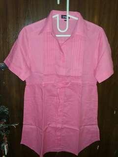 Kemeja Pink
