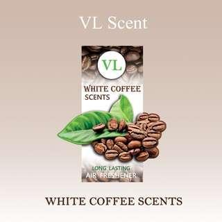 WHITE COFFEE - VL Scent Air Freshener (Organic Block)