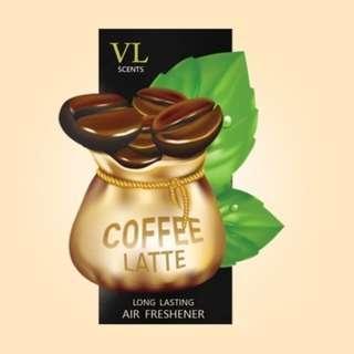 COFFEE LATTE - VL Scent Air Freshener (Organic Block)