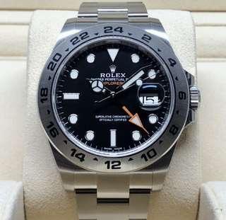 LNIB Rolex Explorer II 216570
