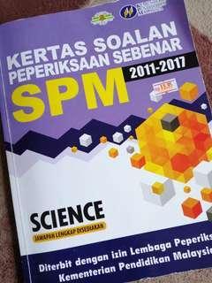 KERTAS SOALAN PEPERIKSAAN SPM SCIENCE (2011-2017)