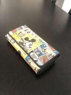Disney large wallet (coin compartment)
